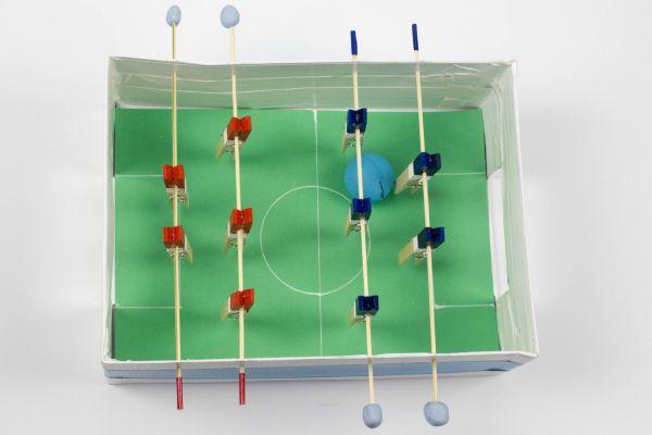 shoebox foosball table
