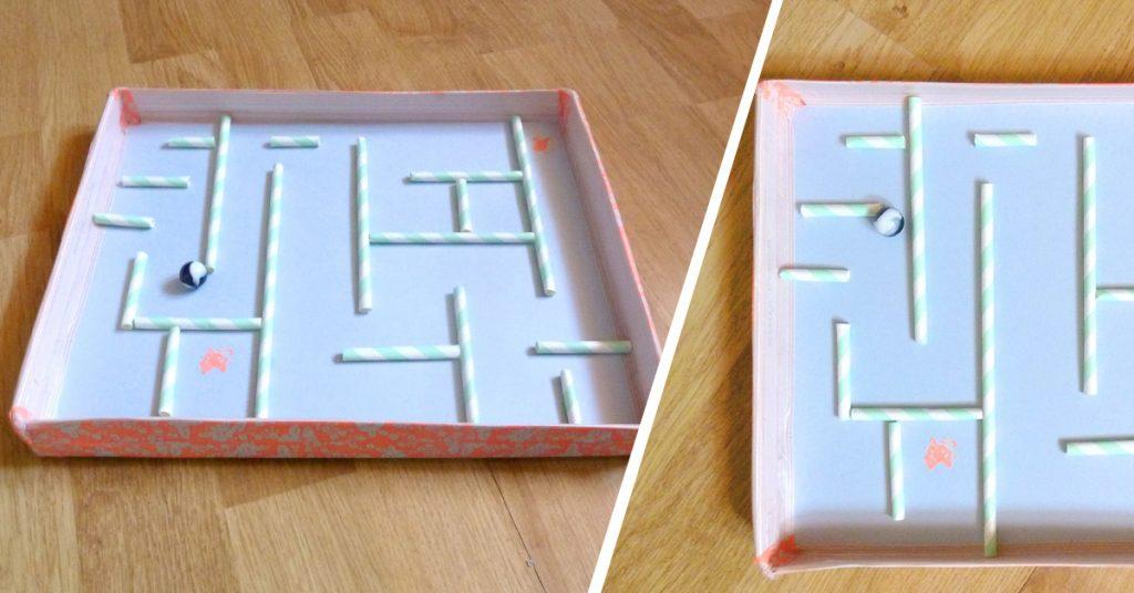 shoebox marble maze