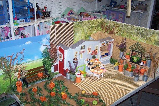 Bountiful Pumpkin Farm Diorama