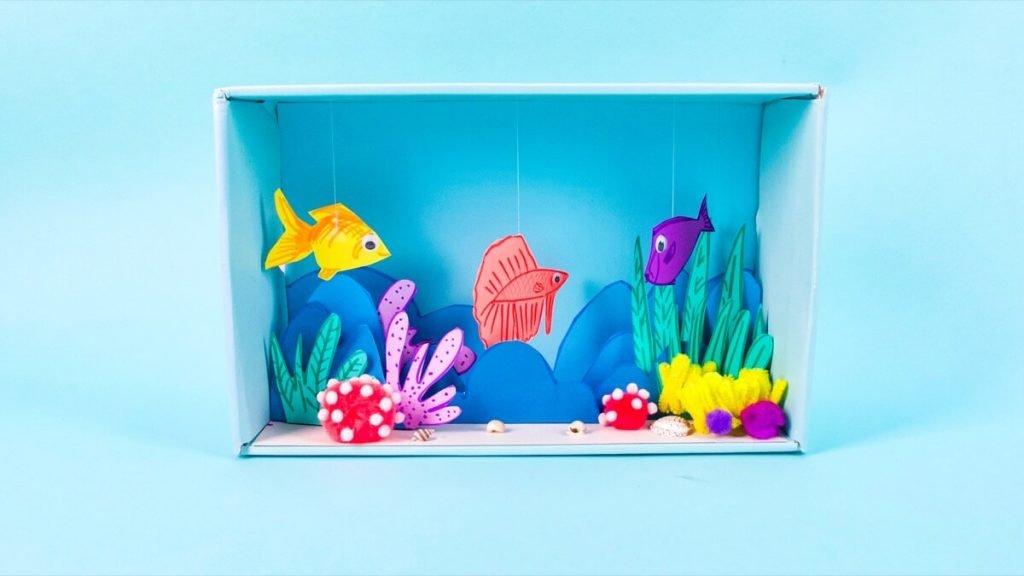 Breath-Taking Underwater Diorama Craft
