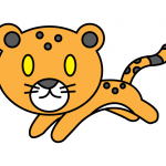 How To Draw a Cartoon Leopard Cub (Big Cat) - Super Easy & Simple For Young CHILDREN!