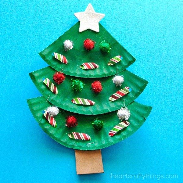 Colorful Christmas Tree Miniature