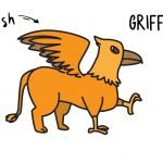 How To Draw a Mythological Cartoon Griffin (Easy Simple Tutorial for Kids)
