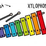 How To Draw a Xylophone (Musical Instrument) - Easy & Cute Cartoon Art Tutorial