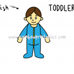 How To Draw a Cartoon Style Toddler in Pajamas