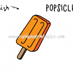 How To Draw a Popsicle - Step By Step Tutorial for Kids (Classic Creamsicle!)