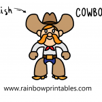 How To Draw a Cool Western Cowboy With Accessories: Old Style, Gun, and Bullets (Easy for Kids!)