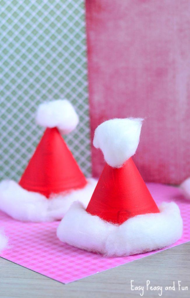 Handmade Kid's Santa Hat