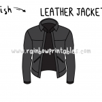 How To Draw a Cool Leather Jacket (Motorcycle Jacket) Art Tutorial for Kids