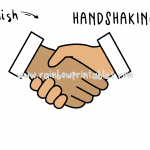 How To Draw a Handshake -  Simple & Easy Step By Step Art Guide