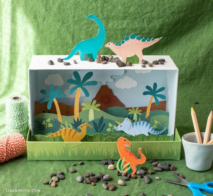 Jurassic Feels Dinosaur Diorama