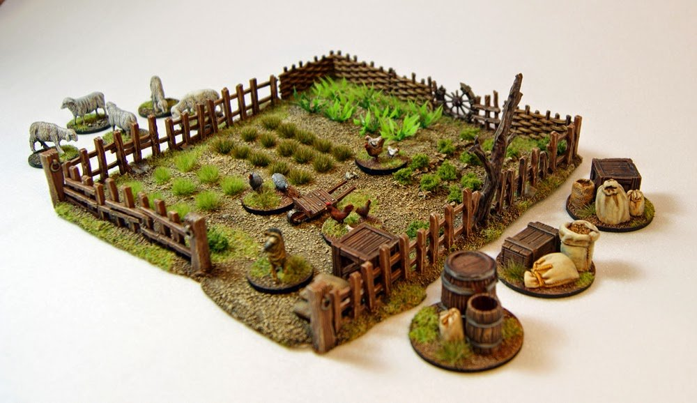 Mini Rural Terrains Diorama Idea