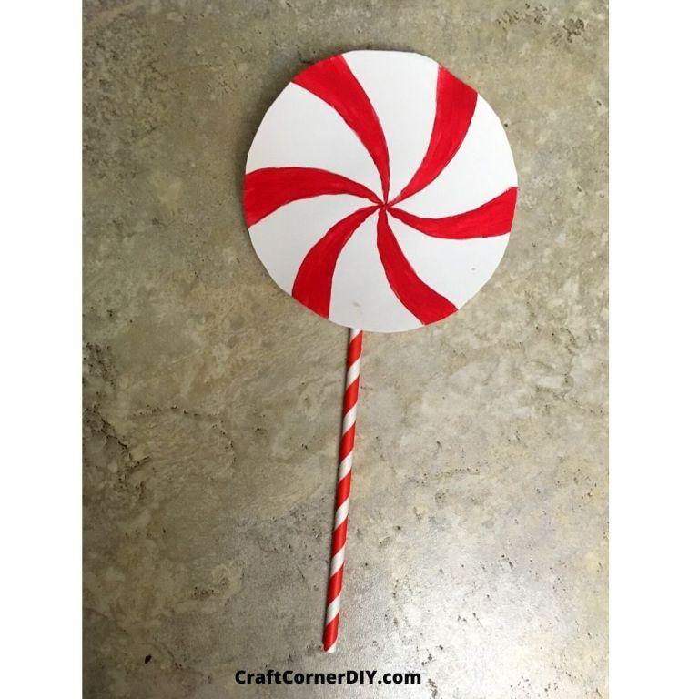 Mouth-watering Peppermint Lollipop