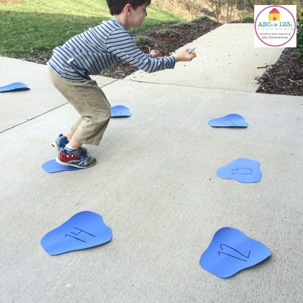 Puddle Jump: A GetUp and Move Math Game