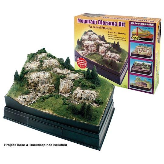 Ready-Made Mountain Diorama Kit