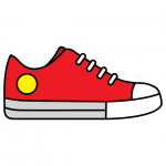 How To Draw Sneakers Canvas Shoes - Step By Step Chuck's Converse Drawing Guide