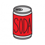 How To Draw a Can of Soda (Super Easy Drawing Guide for Young Kids)