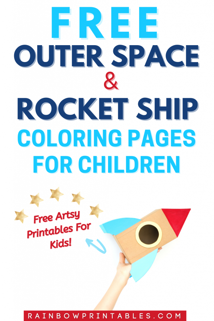 Last year in 2020, the U.S. government confirmed that sightings of UFO by American fighter pilots and Navy officers were not hoaxes, they were…real. REAL!!! This whole thing inspired me to put together some outer space + rocket ship theme coloring pages for kids. I believe it's important to create something that will keep kids interested in space, rocket ships, astronauts, planets, stars, aliens, UFOs, shuttles, etc. Outer space coloring pages, free, galaxy, NASA, children, free printable #free