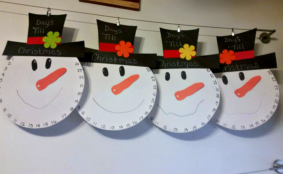 Time-bomb Snowman Christmas Countdown