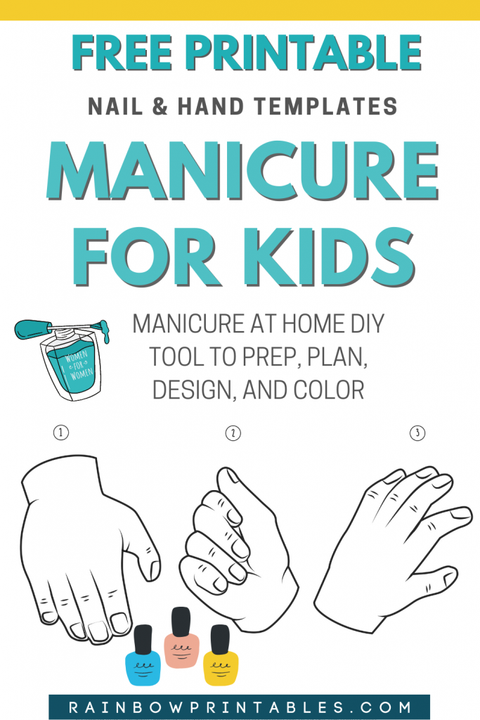 Fun for kids! Free beauty printable. Use hand/nail templates to create design, plan, pair up colors. Full range of skin tones to help visualize color. It helps to choose a skin tone that matches yours from light, beige, tan, dark skin tones.| Beauty tool, Printables, manicure kit, set, manicure at home, manicure ideas, manicure tool, give yourself a mani, tips, nail and hands, manicure for kids, short nails, DIY, color ideas, salon, step by steps, black, beige, white, tan, dark skin, for girls