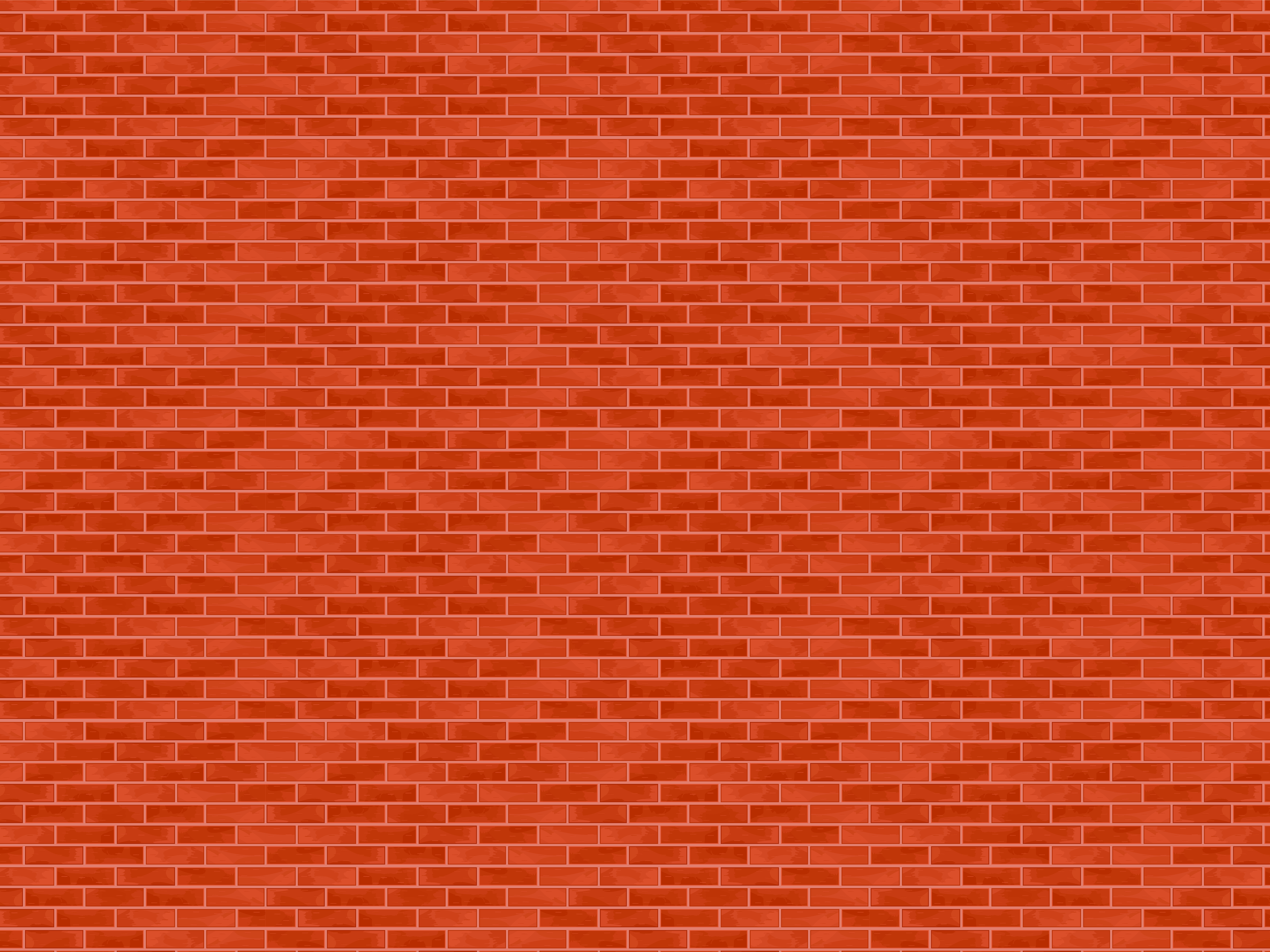Red Brick Pattern Dollhouse Wallpaper Printable Realistic Outdoor
