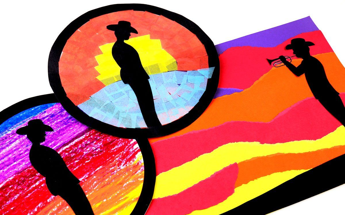 ANZAC Soldier Silhouette Artworks