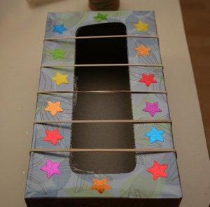 Creative Tissue Box Guitar Craft