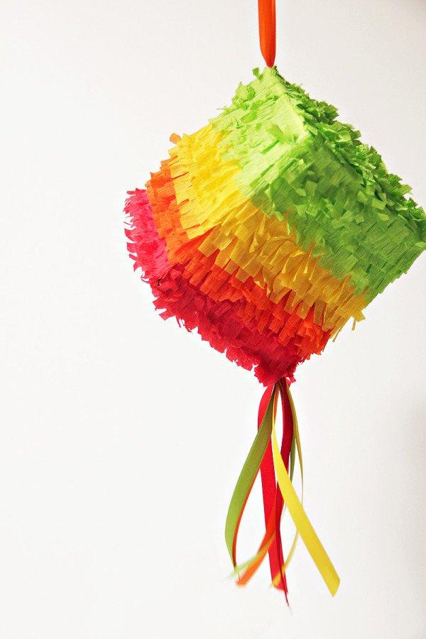 DIY Mini Tissue Box Piñatas