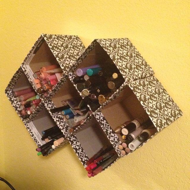 DIY Tissue Box Storage Boxes Project