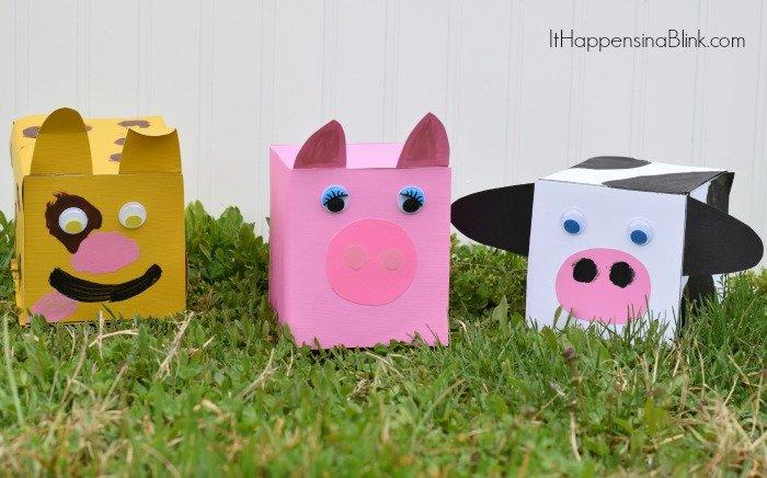 Farm Animal Replica Set