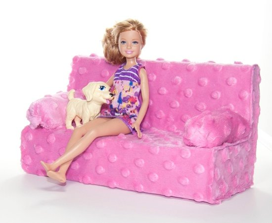 Fashionable Barbie Couch Project