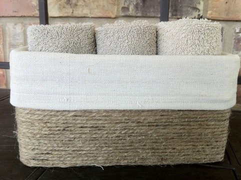 Handmade Tissue Box Towel Holder