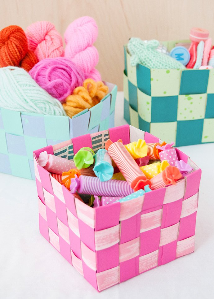 Woven Storage Baskets Project