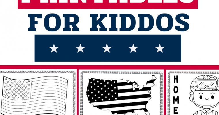 14 Free July 4th Printable Activities & Coloring Sheets for Kids